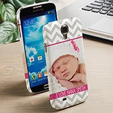 Personalized Photo Galaxy S4 Cell Phone Case - 13485