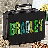 Personalized Boys Lunch Box - Hands Off - 13487