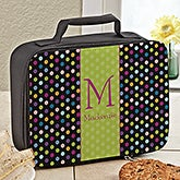 Personalized Girls Lunch Bag - Polka Dots - 13488