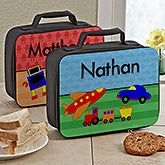 Personalized Kids Lunch Bags - Just For Boys - 13489