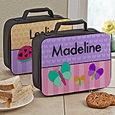 Personalized Kids Lunch Bags - Just For Girls - 13490