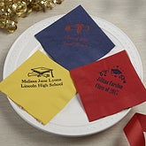 Personalized Graduation Party Napkins - 13503D