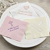 Personalized Communion & Confirmation Party Napkins - 13507D