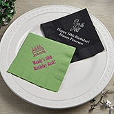 Personalized Birthday Party Napkins - 13510D