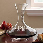 Engraved Monogram Captains Decanter by Luigi Bormioli - 13512