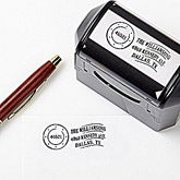 Personalized Self-Inking Address Stamp - Postmark - 13527