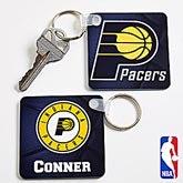 Personalized NBA Basketball Key Ring - 13536