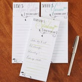 Personalized Funny To Do List Notepads - Set of 3 - 13541