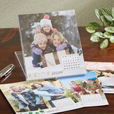 Personalized Photo Desk Calendar - Seasons - 13550
