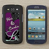 Personalized Samsung Galaxy S3 Cell Phone Case Insert - Love Is - 13586