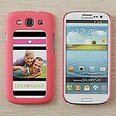 Personalized Samsung Galaxy S3 Photo Cell Phone Case Insert - My Sweetheart - 13587