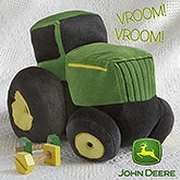 Boys Plush John Deere Tractor Toy - 13612