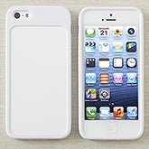 White iPhone 5 Cell Phone Case - Personalized Inserts - 13615