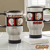 Personalized Halloween Travel Mugs - Casper The Friendly Ghost - 13619