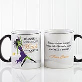 Personalized Halloween Coffee Mugs - Witch Without My Coffee - 13631