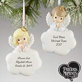 Personalized Precious Moments Christmas Ornaments - Angels - 13661