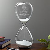 Business Logo Personalized Hourglass - 13664
