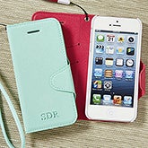 Personalized iPhone 5 Cell Phone Case Wristlet - 13671
