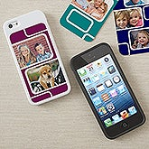 Personalized iPhone 5 Photo Collage Case Insert - 13673