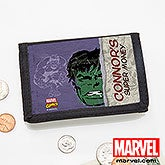 Personalized Marvel Superhero Wallets - Spiderman, Wolverine, Iron Man, Thor - 13706