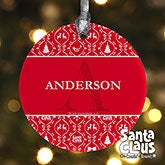 Personalized Christmas Ornaments - Santa Claus Is Coming To Town - 13709
