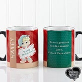 Personalized Christmas Elf Coffee Mugs - Precious Moments - 13748