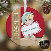 Personalized Christmas Ornaments - Precious Moments Christmas Elf - 13749