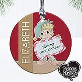 Personalized Christmas Ornaments - Precious Moments Christmas Elf - 13749