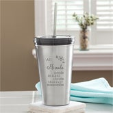 Personalized Stainless Steel Tumblers - All I Need - 13776