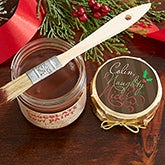 Personalized Holiday Chocolate Body Paint - Naughty or Nice - 13812