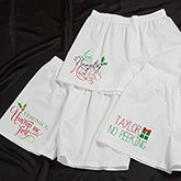 Personalized Christmas Boxer Shorts - Naughty Or Nice - 13813