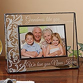 Personalized Glass Picture Frames for Grandmother - Grandmas Like You - 13820