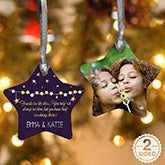 Personalized Christmas Ornaments - Friends Are Like Stars - 13850