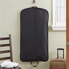 Personalized Garment Bag - Embroidered Monogram - 13896