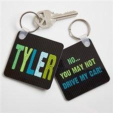 Personalized Kids Keychains - All Mine - 13898