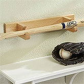 Oak Baseball Bat Display Stand - 13908