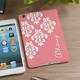 Personalized iPad Mini Case - Damask - 13935