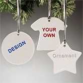 Design Your Own Custom Christmas Ornaments - Round Ornament