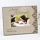 Personalized Couples Picture Frame - Perfect Pair - 13976