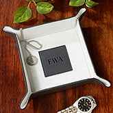 Personalized Valet Tray - Monogram - Black - 13988