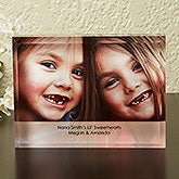 Personalized Photo Lucite Keepsake - Just For Her - 13998