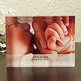 Personalized Baby Photo Keepsake Block - 14000