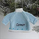 Personalized Baby Christmas Ornaments - Baby Sweater - 14004