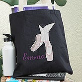 Personalized Dancer Tote Bags - Ballet, Irish & Tap Dancing - 14042