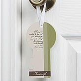 Irish Blessing Personalized Door Key