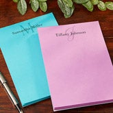 Personalized Notepads for Her - Classic Monogram - 14073
