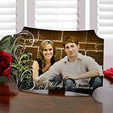 Personalized Photo Tabletop Plaque - Love Is - 14075