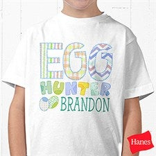 Personalized Kids Easter Apparel - Egg Hunter - 14079