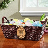 Personalized Easter Serving Basket - Easter Egg - 14089