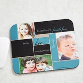 Personalized Photo Mouse Pads - Favorite Faces - 14098